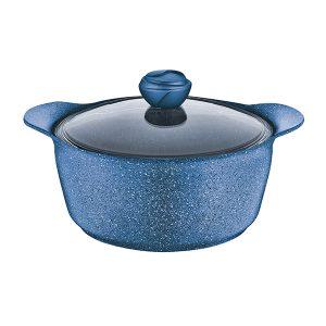 Faitout Granite EXPRESS bleu Diam 22